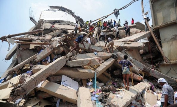 TOPSHOTS-BANGLADESH-BUILDING-DISASTER-TEXTILE