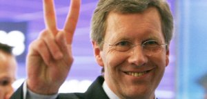 File photo of Lower Saxony federal state Prime Minister Wulff of the CDU in Hanover