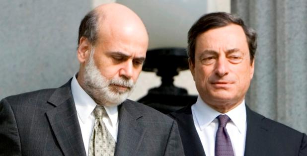 Draghi-and-Bernanke-together