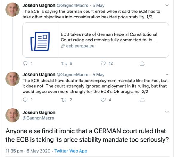 J_Gagnon_ECB tweet